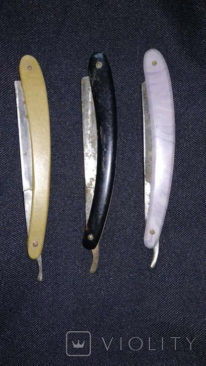 Опасные бритвы 3 шт одним лотом, фото №2