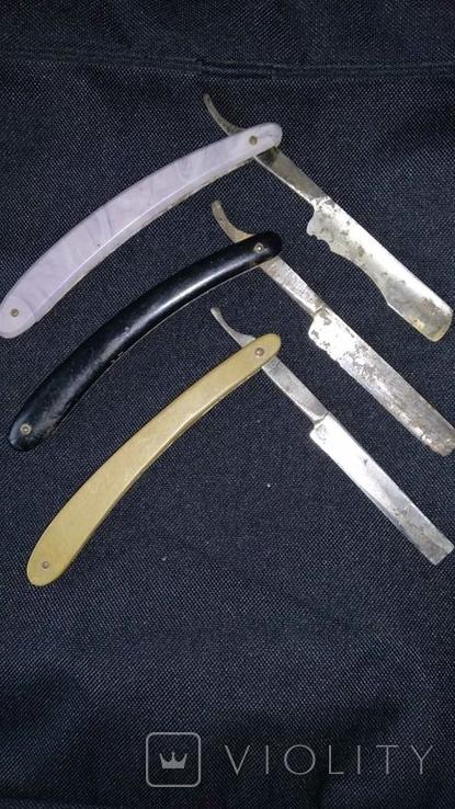 Опасные бритвы 3 шт одним лотом, фото №3