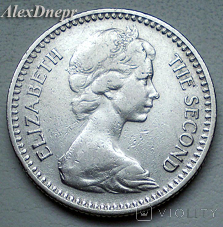 Родезия, 1 шиллинг-10 центов (1964 г.), фото №3