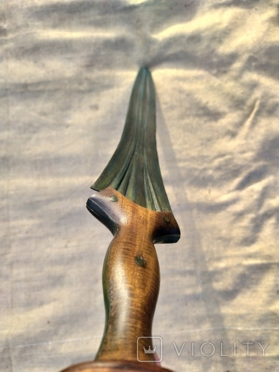 Копия. Кельтский меч. Миндельхейм. Бронза., фото №12
