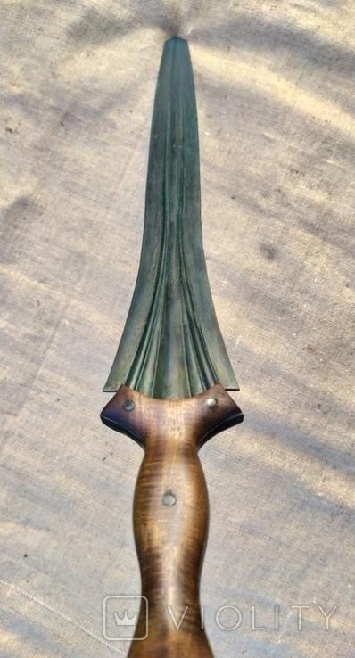 Копия. Кельтский меч. Миндельхейм. Бронза., фото №13