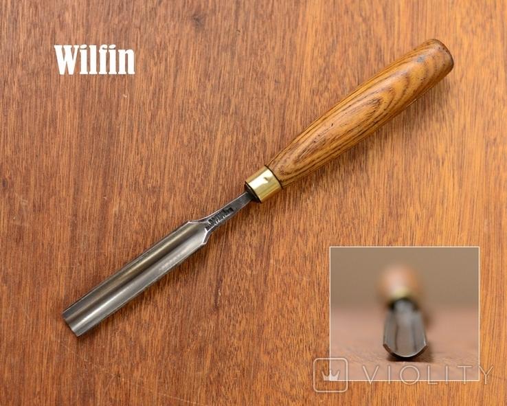 William Findlay & Sons, England Антикварная полукруглая стамеска шириной 17мм