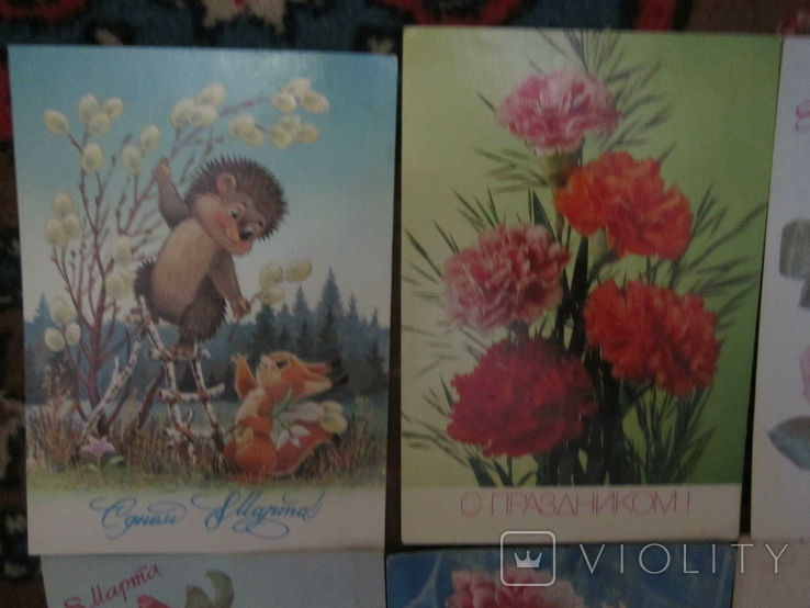 Открытки СССР разные 16шт чистые, фото №3