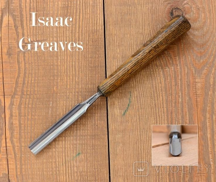 Isaac Greaves, Sheffield, England Стамеска полукруглая шириной 14мм