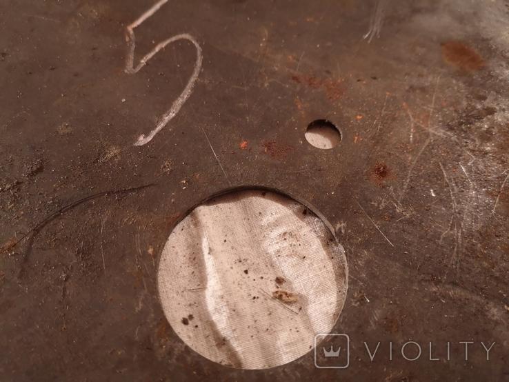 Диск отрезной для циркулярной пилы СССР большой, фото №3