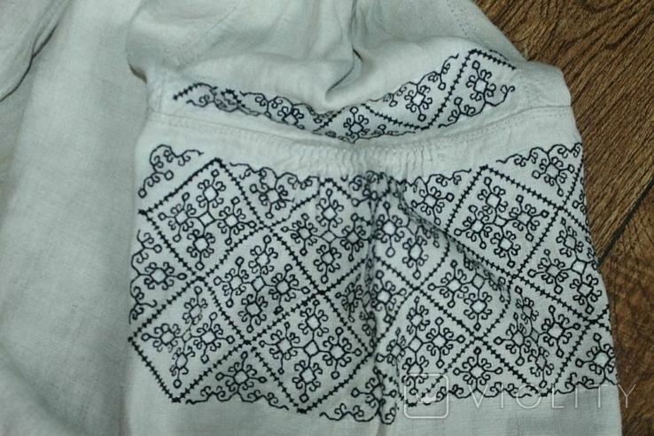 Сорочка вышиванка старинная №50, фото №5