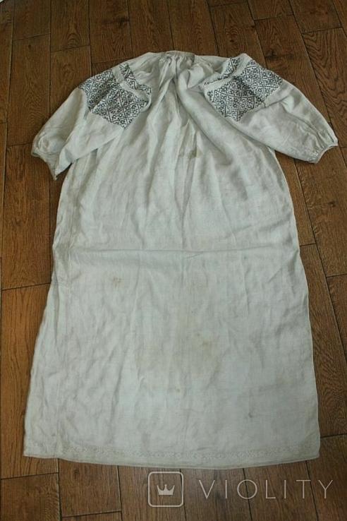 Сорочка вышиванка старинная №50, фото №9
