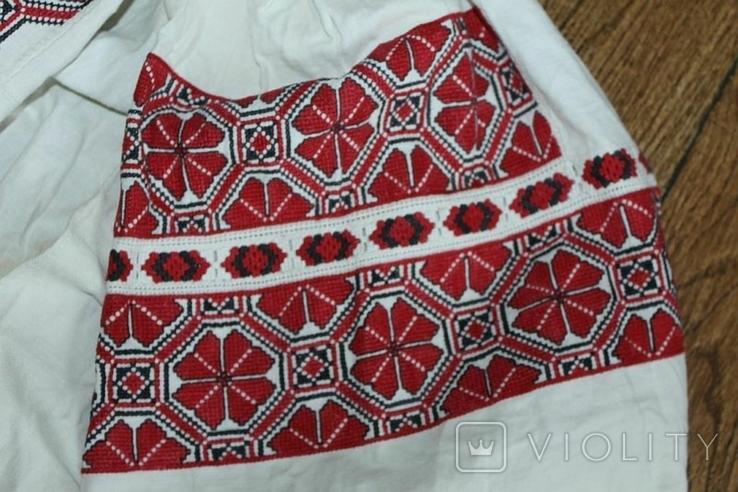 Сорочка вышиванка старинная №49, фото №4