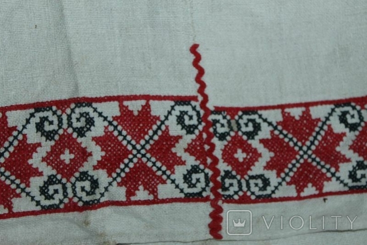 Сорочка вышиванка старинная №49, фото №6