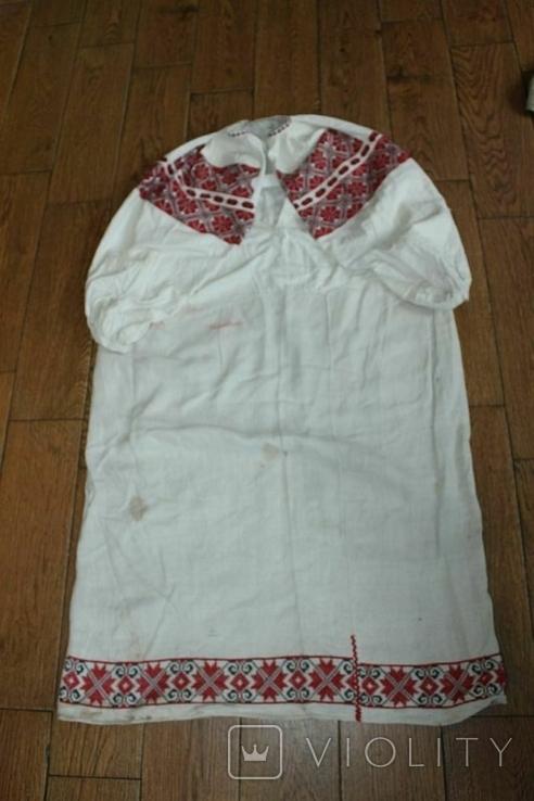 Сорочка вышиванка старинная №49, фото №11