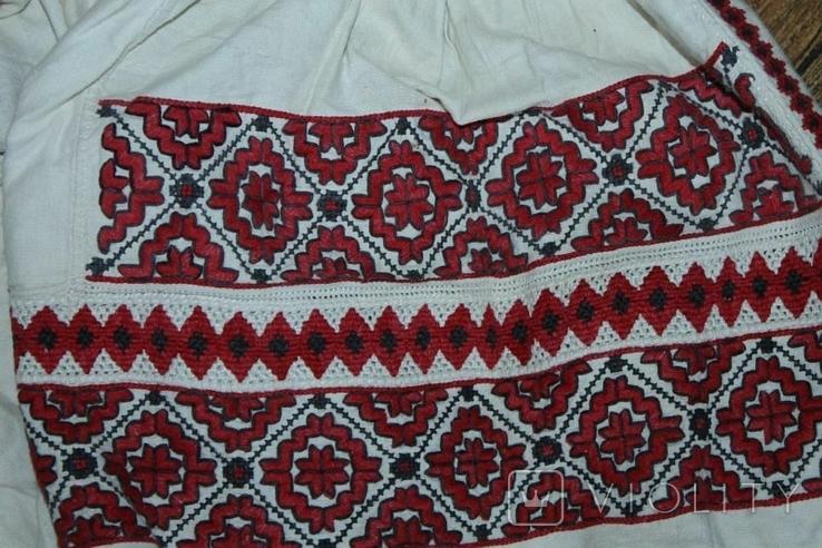 Сорочка вышиванка старинная №48, фото №6