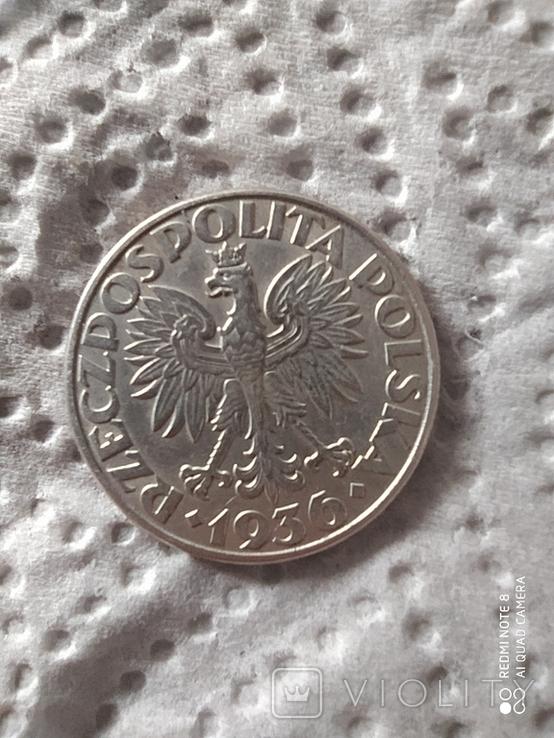 2 злотих 1936, фото №3