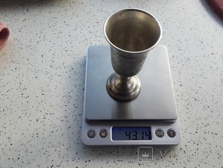 Серебряная рюмка, фото №7