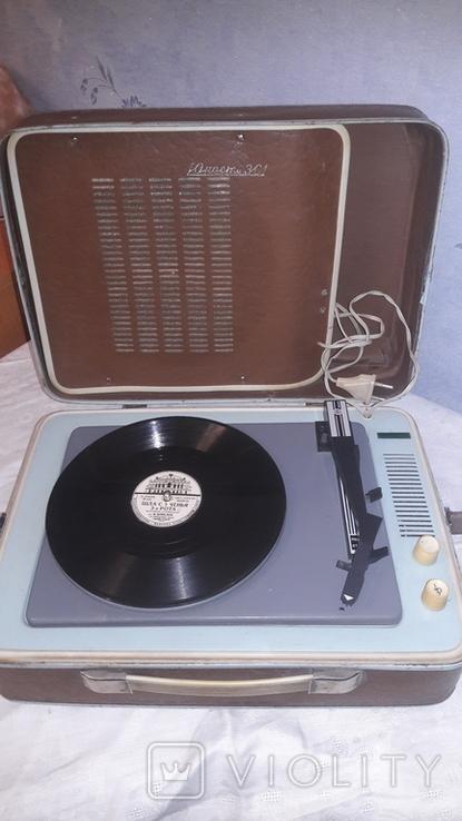 """Электрофон """"Юность-301"""" 1976 г. ГОСТ., фото №2"""