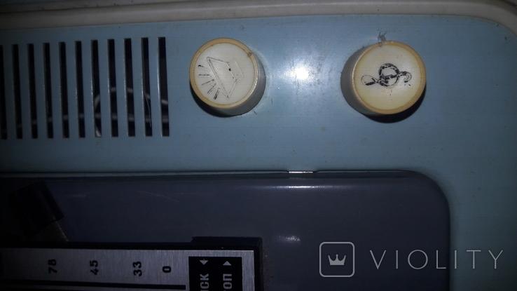 """Электрофон """"Юность-301"""" 1976 г. ГОСТ., фото №4"""