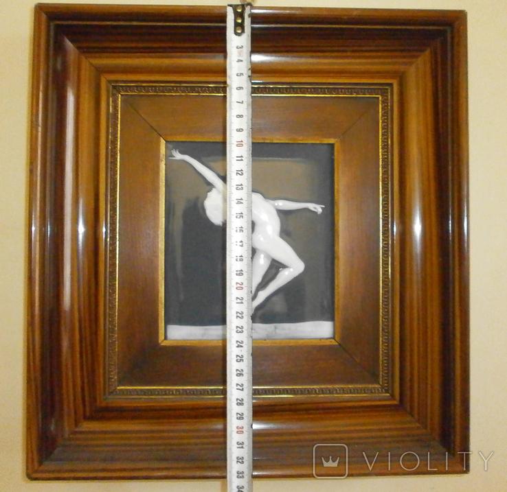 Картина на фарфоре подписная ( Фарфор Лимож ), фото №3