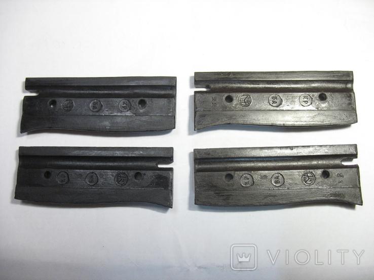 Штык Маузер К-98, накладки рукояти. копия, фото №7