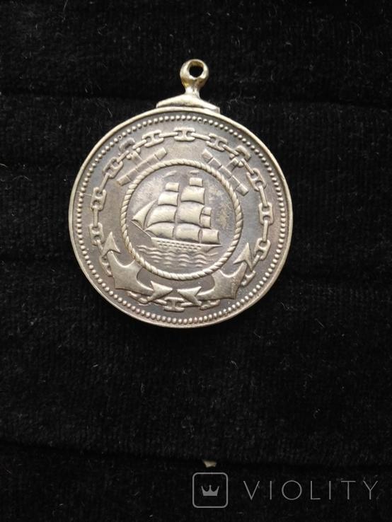 Медаль Адмирал Нахимов, копия, фото №3