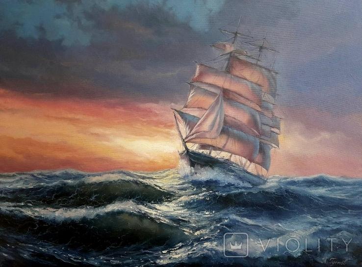 С попутным ветром(8060) копия, П. Густов, фото №2