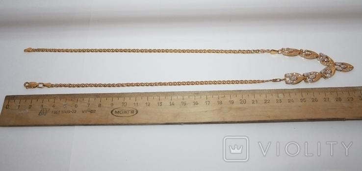 Набор серебряный с позолотой и золотыми накладками, фото №6