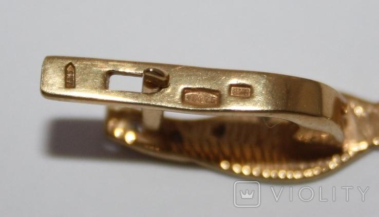 Набор серебряный с позолотой и золотыми накладками, фото №9
