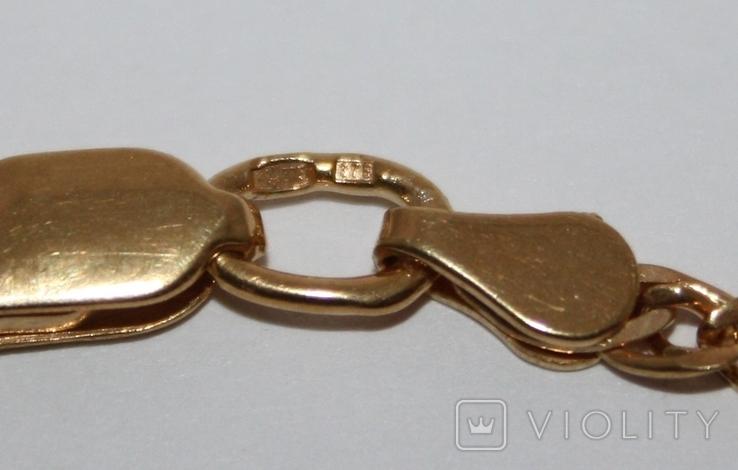 Набор серебряный с позолотой и золотыми накладками, фото №10