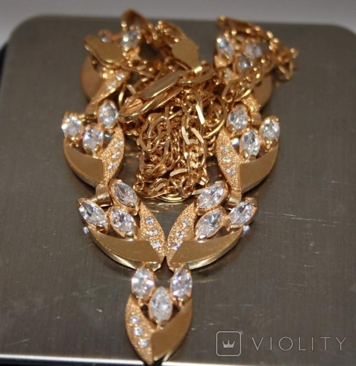 Набор серебряный с позолотой и золотыми накладками, фото №13