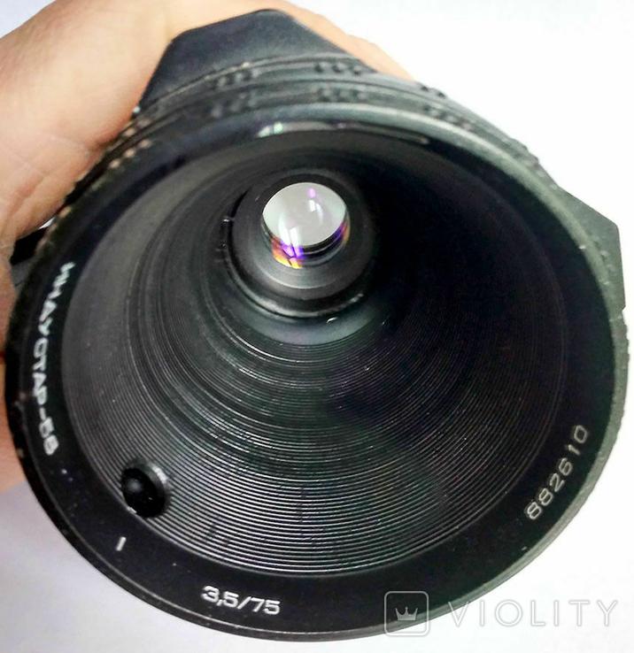 ИНДУСТАР-58 f3.5/75mm, объектив, СССР, фото №4
