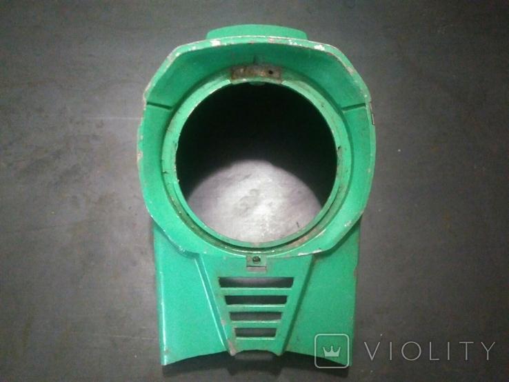 Маска, морда мотороллера Электрон, Вятка (алюминий) (2), фото №7