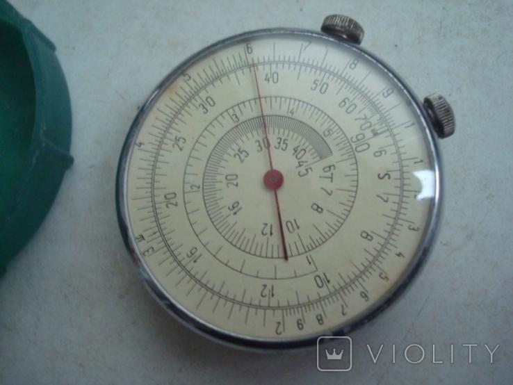 Круговая логарифмическая линейка КЛ-1, фото №7
