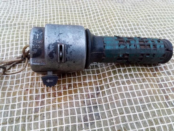 Газова ручка тяжкого мото, фото №2