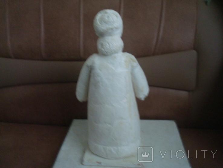 Снегурочка вата папье маше 1970г. 34см., фото №8