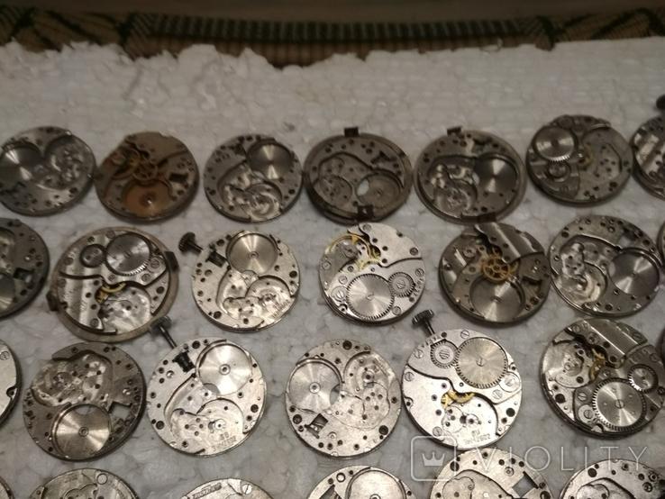Механизмы или части механизмов к наручным часам, в основном ЗИМ, фото №4