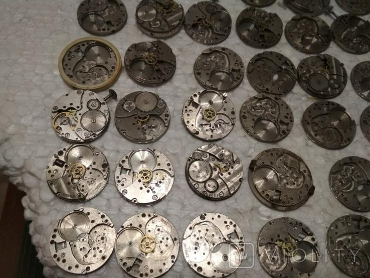 Механизмы или части механизмов к наручным часам, в основном ЗИМ, фото №5