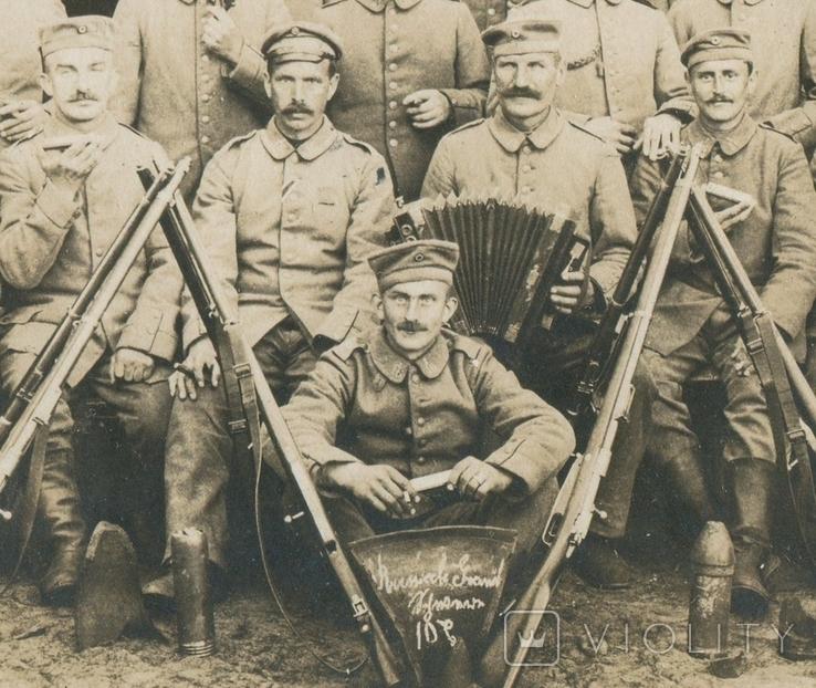 Германская Империя. Бойцы с винтовками., фото №4