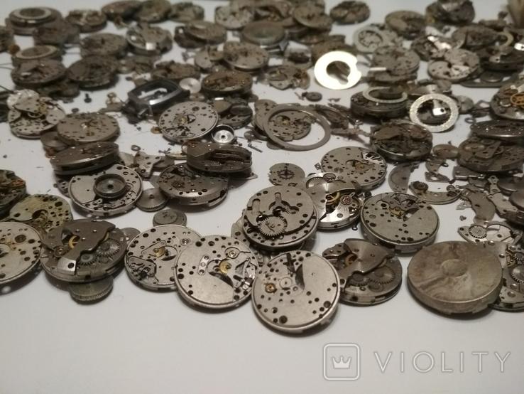 Механизмы или части механизмов к наручным часам Заря, фото №4