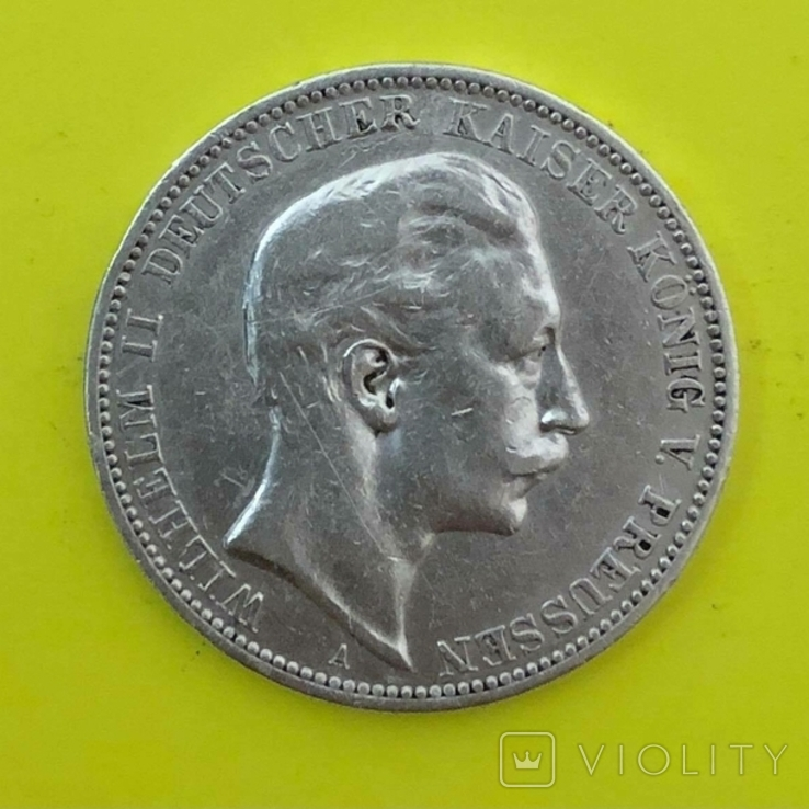 3 Марки 1909р. Срібло., фото №2