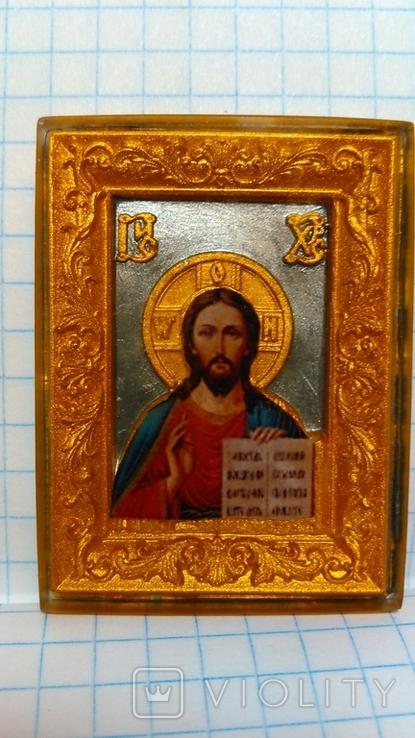"Иконка ""Иисус Христос"". Миниформат., фото №2"