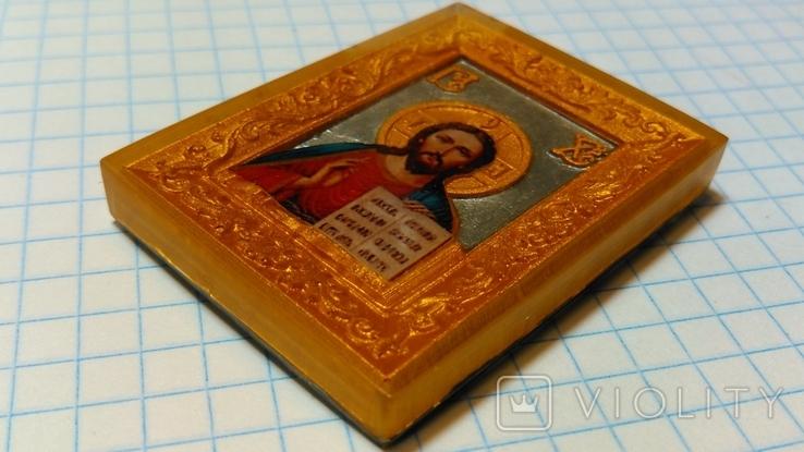 "Иконка ""Иисус Христос"". Миниформат., фото №5"