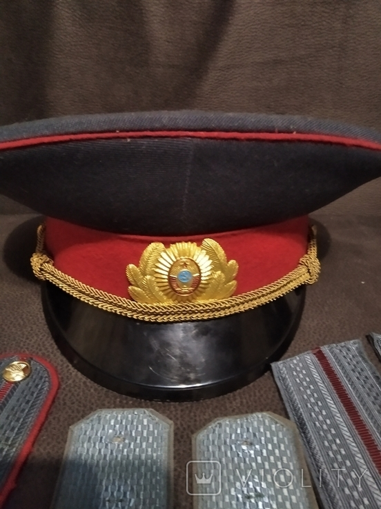 Фуражка МВД и погоны, фото №3