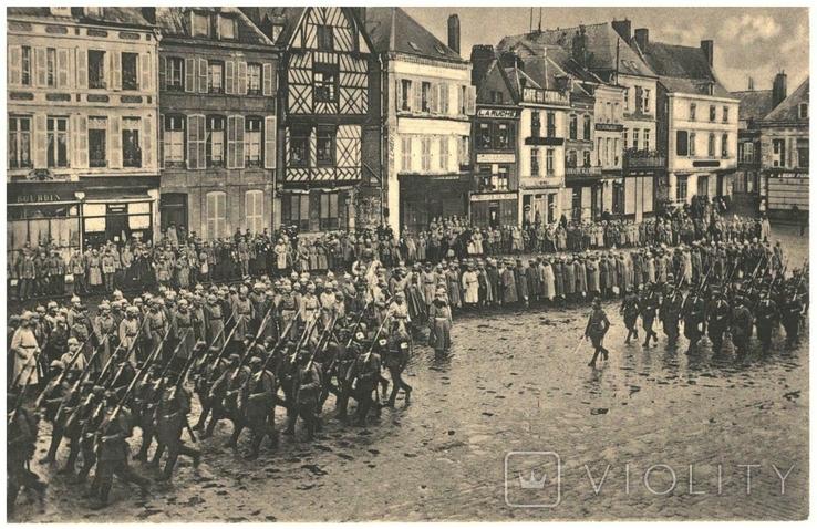 Открытка прием парада Людвиг III — король Баварии 1915 год Первая мировая война Германия, фото №2