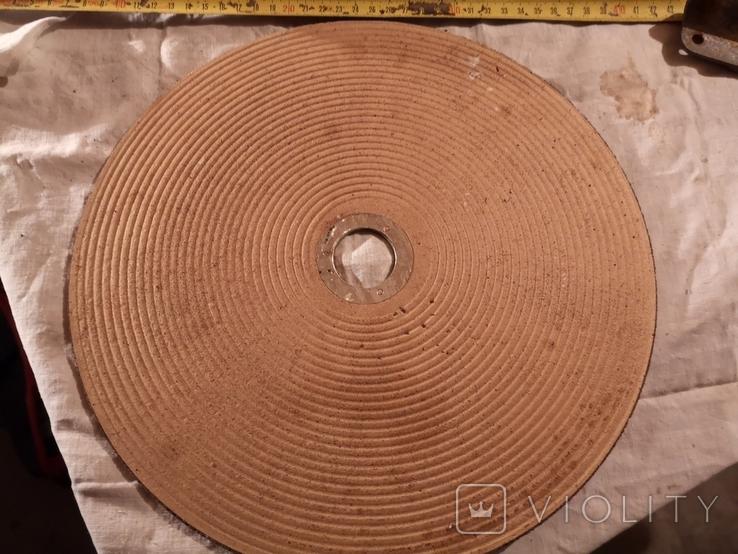 Диск отрезной по металу СССР для болгарки полотно, фото №7