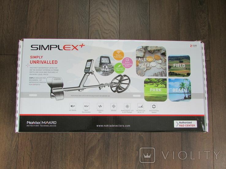 Металошукач Nokta Simplex+ Новий, фото №3