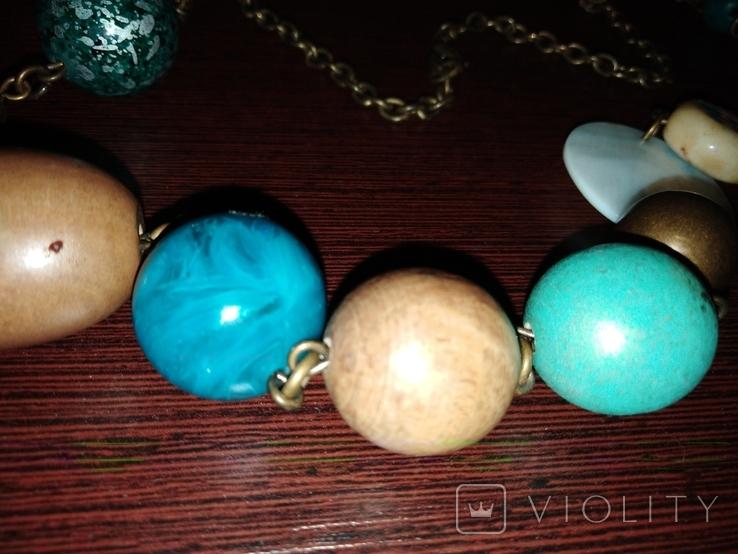 Ожерелье колье, фото №3