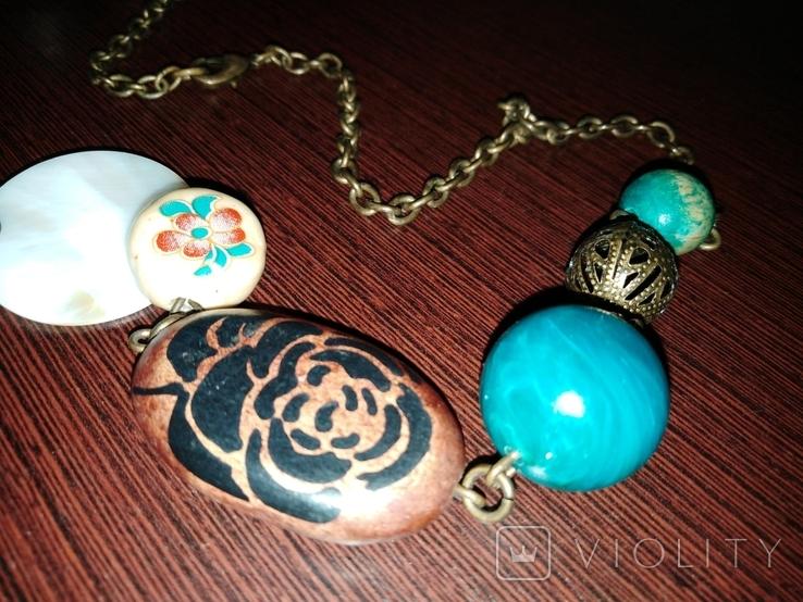 Ожерелье колье, фото №4