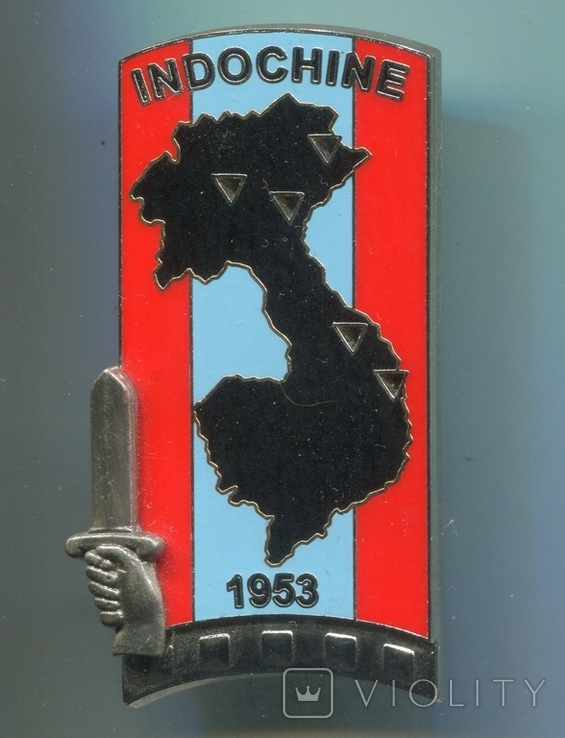 "Франция. 5-й батальон ""Индокитай"" 211 академии унтер-офицеров., фото №2"