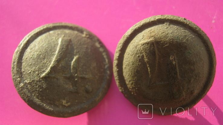 Пуговиці н.4 - 2 штуки, фото №6