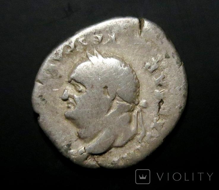 Денарий имп. Веспасиан, фото №3