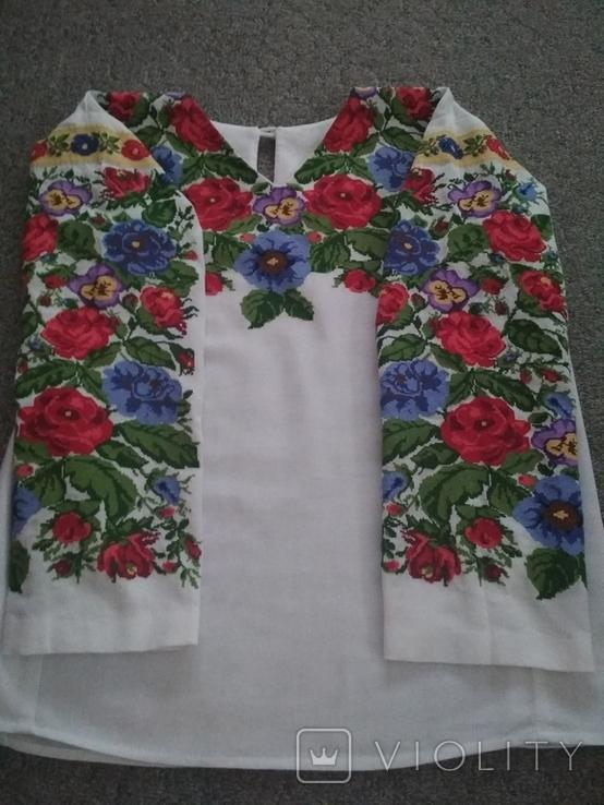 Вишита сорочка борщівська вишиванка, фото №2