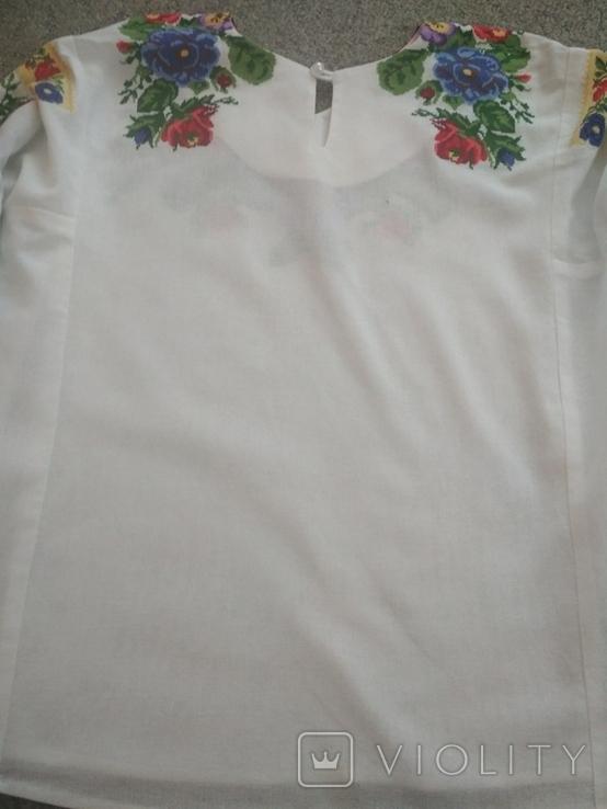 Вишита сорочка борщівська вишиванка, фото №6